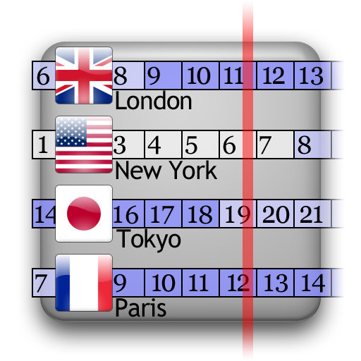 World Clock Widget 旅遊 App LOGO-APP試玩