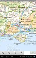 Screenshot of Great Britain Road Atlas Map