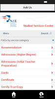 Screenshot of NIE Mobile