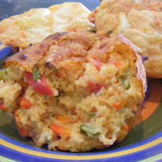 Vegie Cheese Muffins