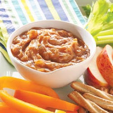 Apple Cinnamon Peanut Butter Dip