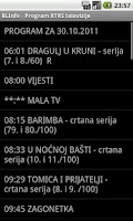 Screenshot of BL Info