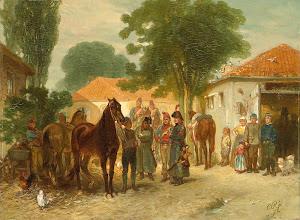 RIJKS: Charles Rochussen: painting 1872
