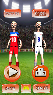 USA Soccer Ball Juggler - screenshot