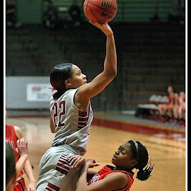 UIndy VS William Jewell womens Basketball 2 by Oscar Salinas - Sports & Fitness Basketball