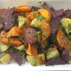 Tri Colored Roasted Potatoes