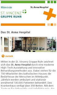 St. Anna Hospital - screenshot
