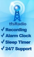 Screenshot of tfsRadio Puerto Rico
