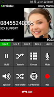 Screenshot of 3CXPhone for Phone System v12