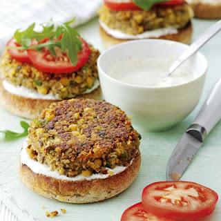 Chickpea Mushroom Veggie Burger Recipes