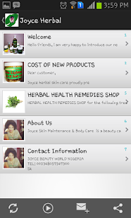Joyce African Herbal - screenshot