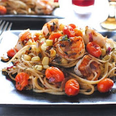 Shrimp and Corn Pasta