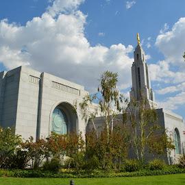 Redlands LDS Temple by Gregg Lopez - Buildings & Architecture Places of Worship ( religion, temple, angel moroni, redlands, lds )