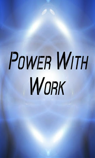 Power with Work Calculator