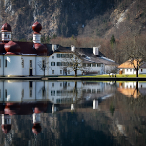 Konigsee by Blaz Crepinsek - Travel Locations Landmarks (  )