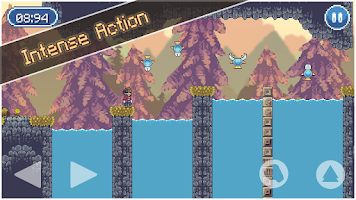 Screenshot of Lumber Jacked - Platform Game