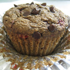 Chocolate Cherry Muffins (Everything-Free, Low-Cal and Vegan!)