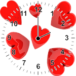 Love Heart Analog Clock Widget 2.0 Apk