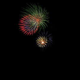Big Bang by Japie Scholtz - Abstract Fire & Fireworks ( colors, night, light, fire )