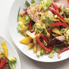Asian Steak Salad With Mango