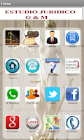 Screenshot of Abogado Ciudad del Este - Py