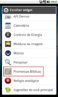 Screenshot of Biblical Promises Lite