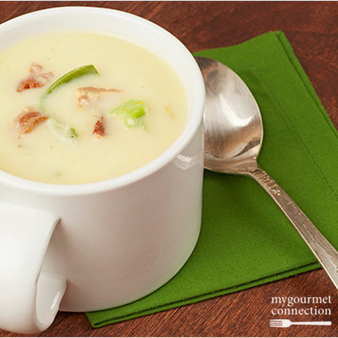 Creamy Cabbage, Leek and Potato Soup