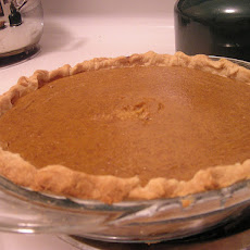 Boozy Pumpkin Pie