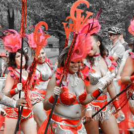 by Anjuli Shankhwar - People Musicians & Entertainers ( selective color, pwc )