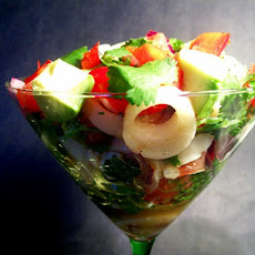 Vegetarian Ceviche That Looks Not-So-Vegetarian