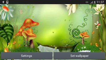 Screenshot of Fairy Tale Live Wallpaper