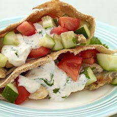 Weight Watchers Greek Chicken Pitas