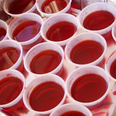 Berry Sour Apple Jello Shots