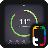 Free Download Battery Arc Theme APK for Samsung