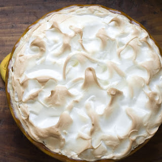 Maple Buttermilk Pie with Meringue