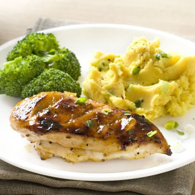 Tamarind Chicken With Golden Mash