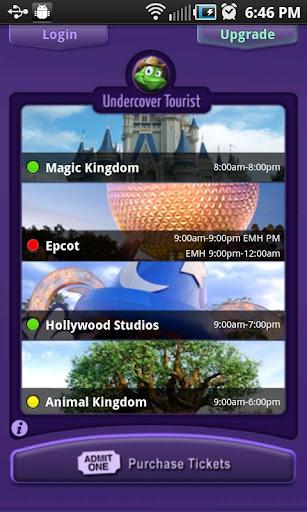 Disney World Wait Times Lite