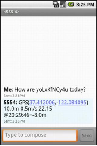 Lost-N-Found SMS