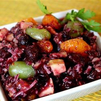 No Cook Cranberry Salad