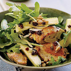Chicken Salad with Zucchini, Lemon and Pine Nuts