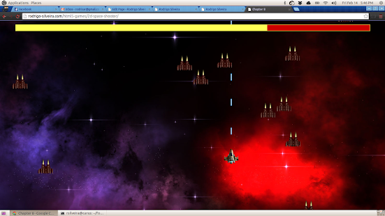 Space Shooter 2D - screenshot