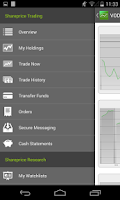 Screenshot of SharePrice