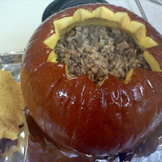 A Meal in a Pumpkin