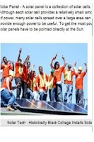 Screenshot of Sankofa Solar