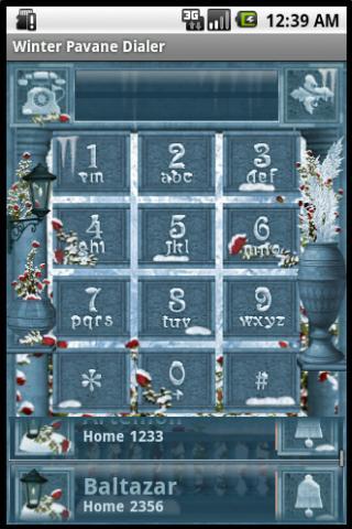 玩免費個人化APP|下載冬季Pavane撥號 app不用錢|硬是要APP