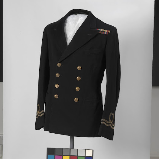 HMS Belfast officer's dress jacket