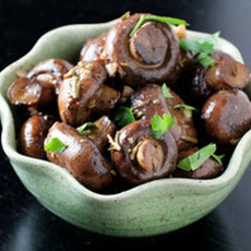 Roasted Mushrooms with Rosemary and Garlic