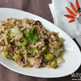 Your Complete Healthy Holiday Meal with Wild Rice Stuffing