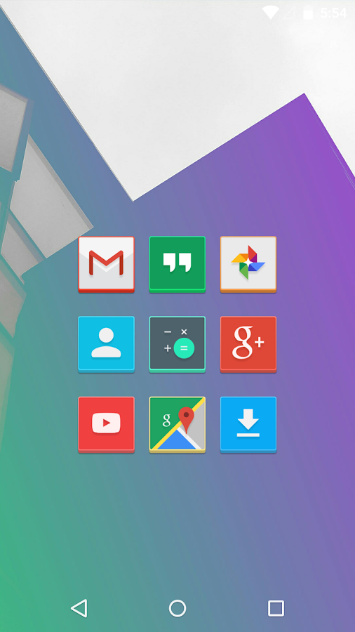 Versicolor - Icon Pack Screenshot 0
