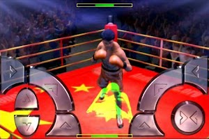 Screenshot of International Boxing Champions